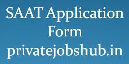 SAAT Application Form