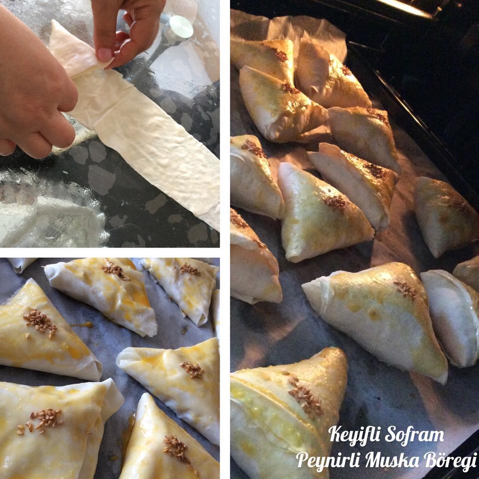 Peynirli Muska Böreği Videosu