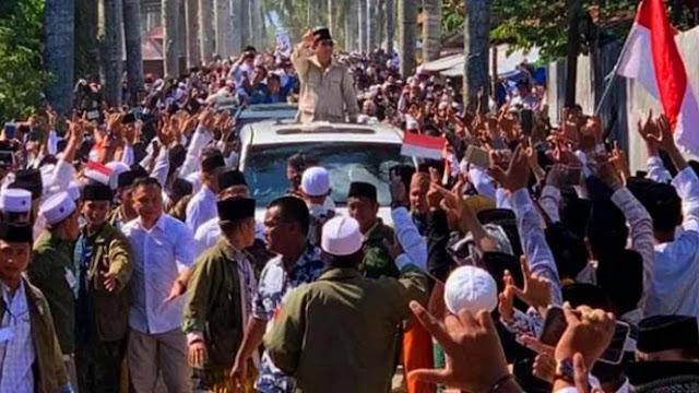 Sambutan Madura untuk Prabowo dalam Tangkapan Kamera, Bikin Merinding