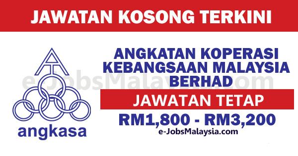 Angkatan Koperasi Kebangsaan Malaysia Berhad ANGKASA