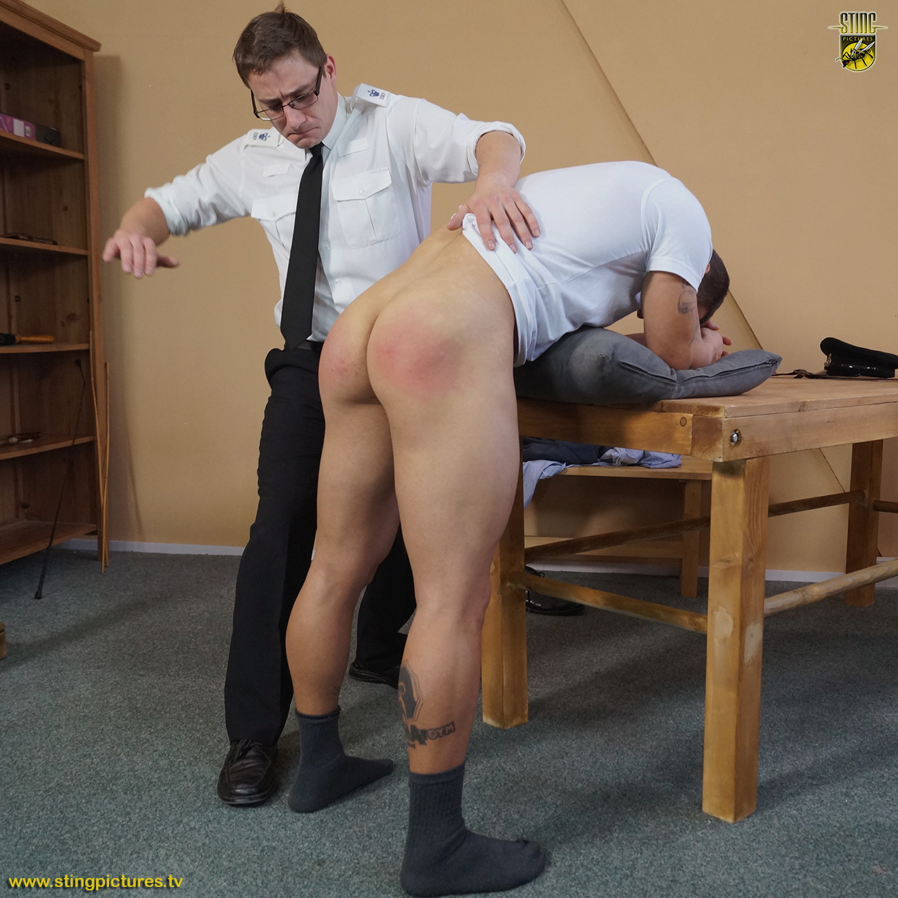 Digging this spank his boy the