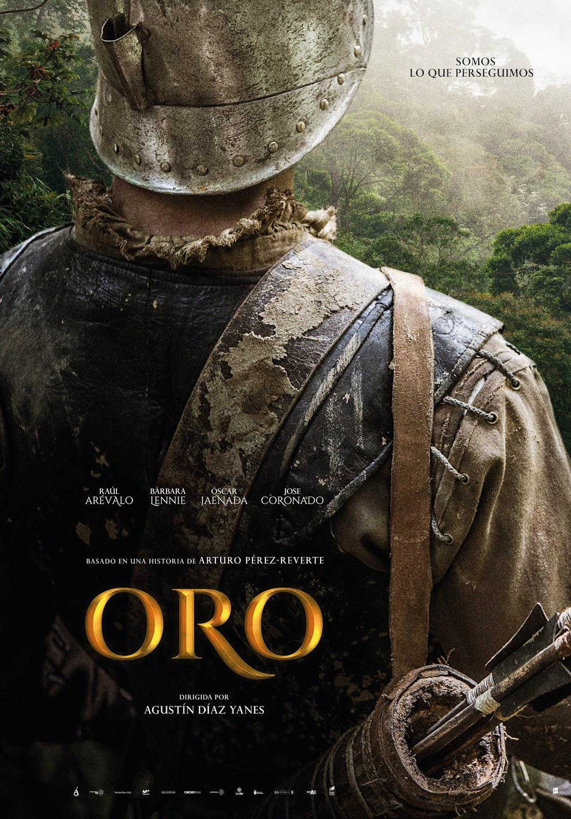 Se muestra el teaser póster del largometraje Oro