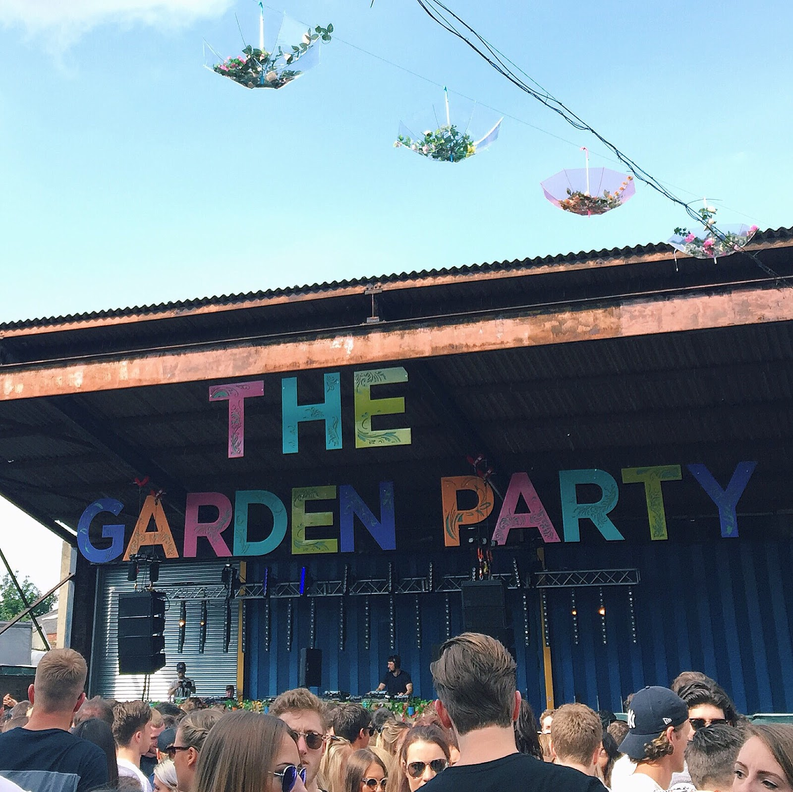 The Garden Party at Canal Mills, Leeds
