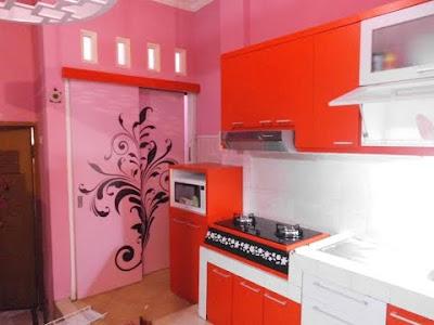 tips pemilihan warna yang cerah untuk interior kitchen set dapur