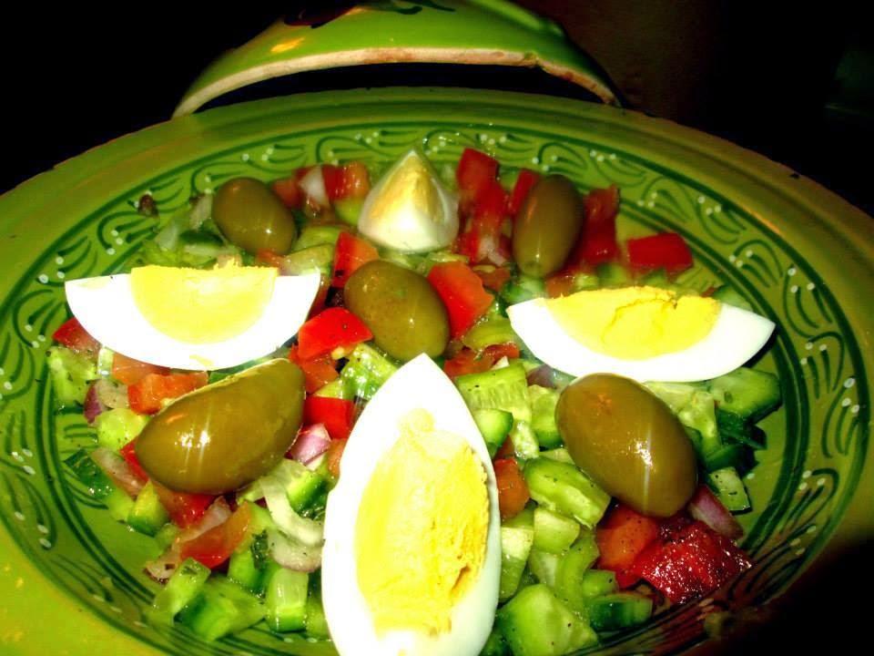 Recette de salade Tunisienne - Recette Tunisienne