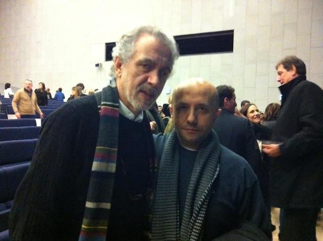 Fernando Trueba junto a Luis Alegre