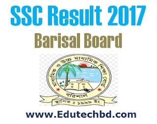SSC Result 2017 Barisal Board
