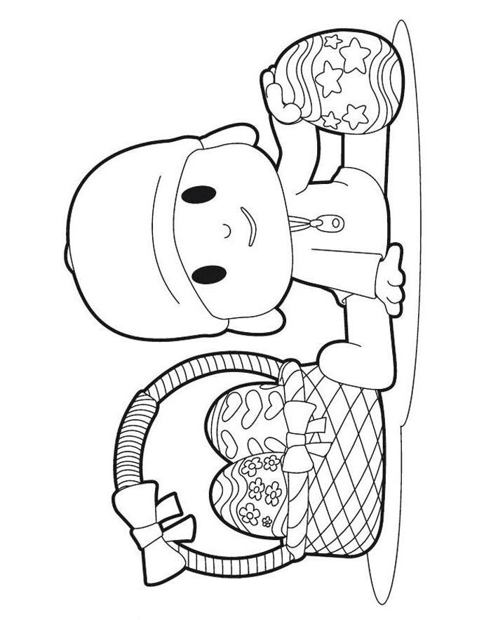 РАЗВИТИЕ РЕБЕНКА Раскраски из Мультфильма Покойо Pocoyo