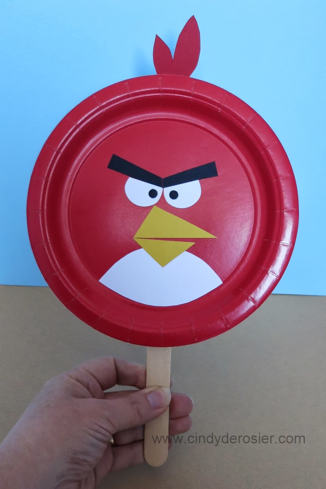 Angry Bird Paddles & Cindy deRosier: My Creative Life: Angry Bird Paddles