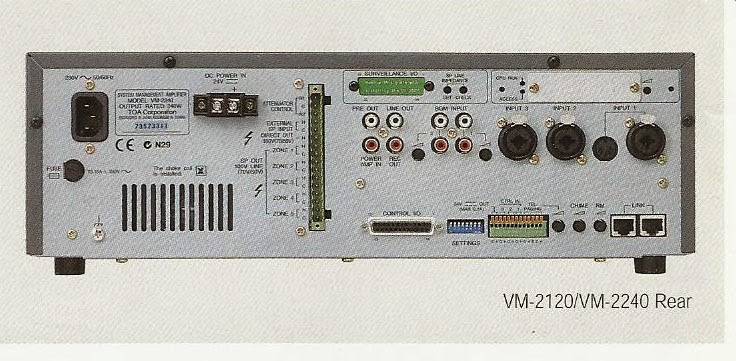 Kết quả hình ảnh cho AMPLY TOA VM 2120