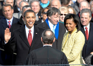 1st Inauguration Day for Obama