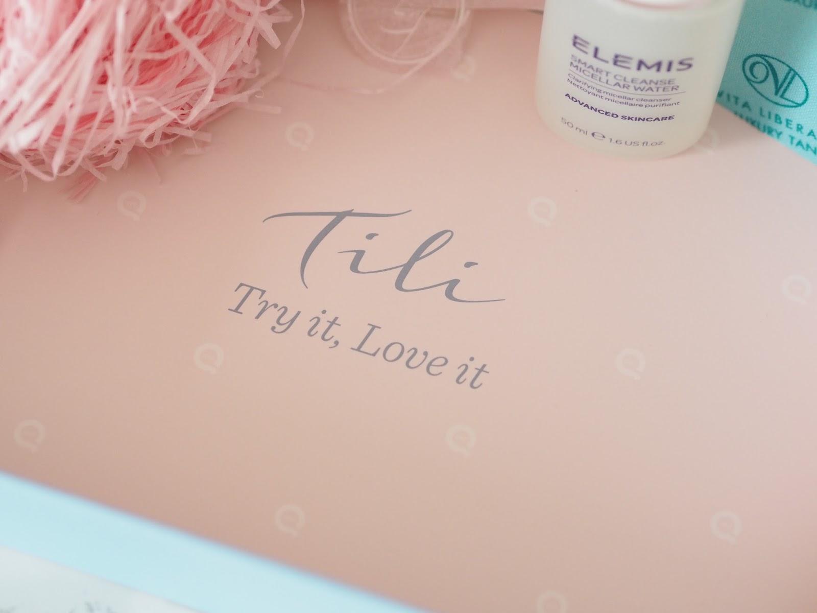 TILI beauty box QVC review