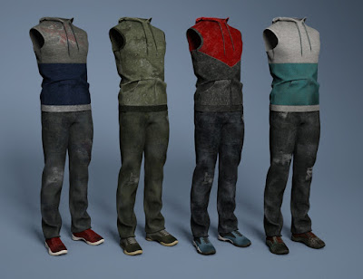 Street Cred Outfit Textures
