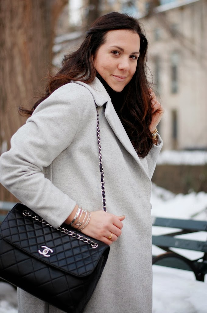 Chanel ITB handbag and Tiffany & Co. Atlas Collection
