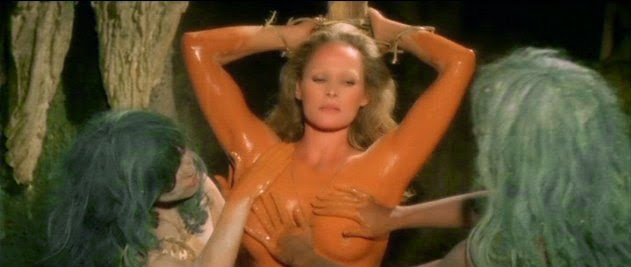 Ursula andress the mountain of the cannibal god 1