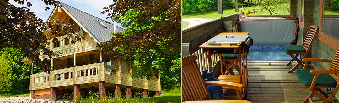 20 Lodges with Hot Tubs within a 90 minute drive of York  - Flowery Dell Lodges