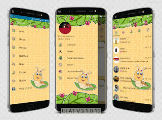 Download BBM Mod Smooth Leaf Brown Wallpaper APK V3.1.0.13