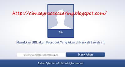 Cara Hack Akun Facebook Terbaru 2015