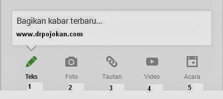 cara menggunakan google+