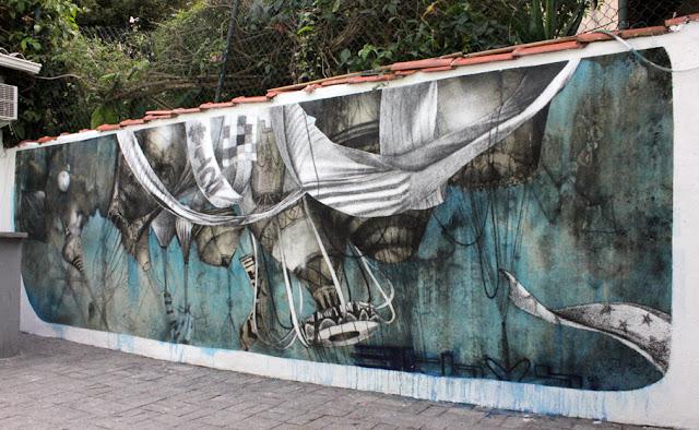 Мрачные рисунки на стенах. Ethos 17