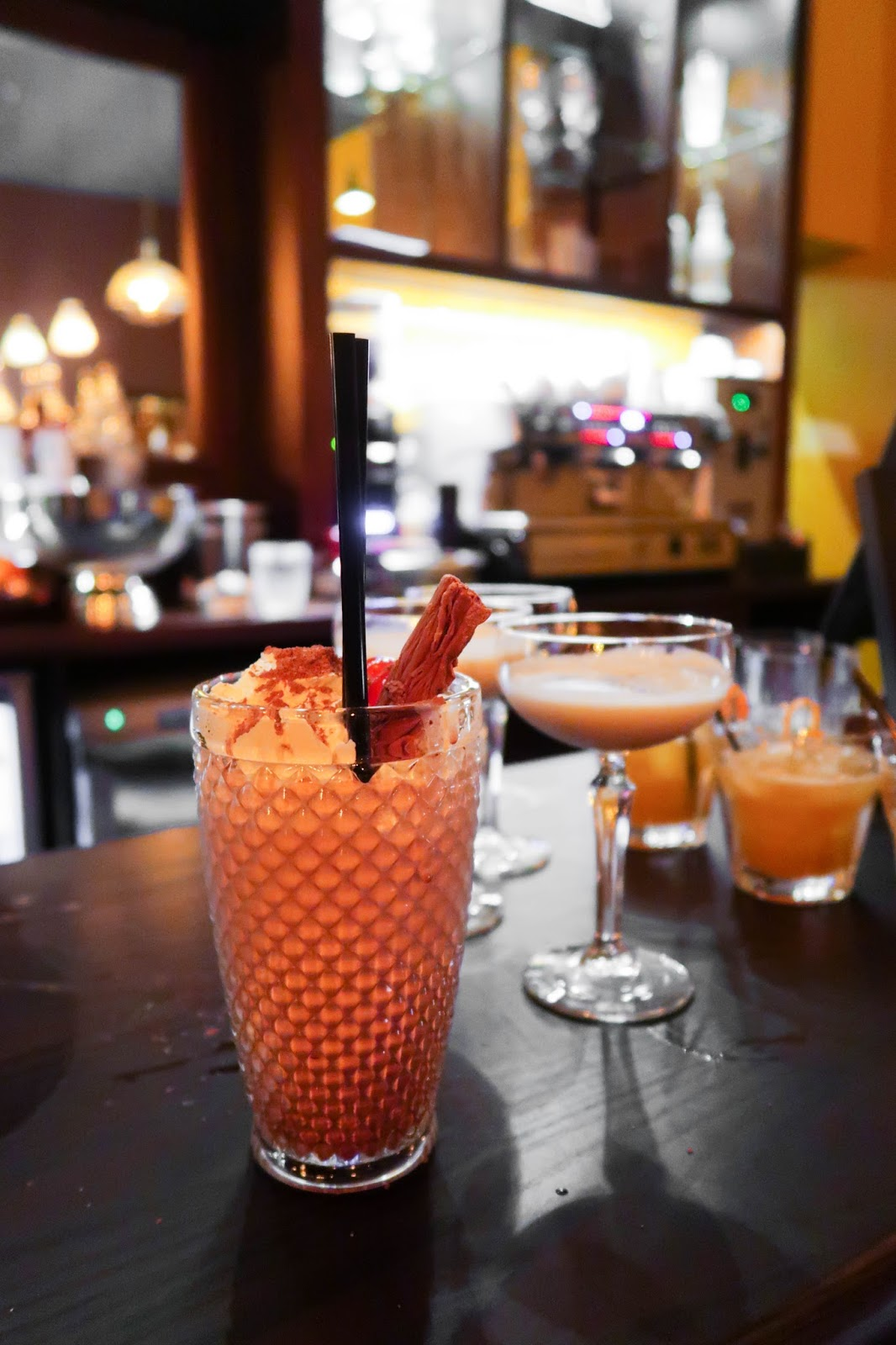 My Belle's: UK's only gelato cocktail bar