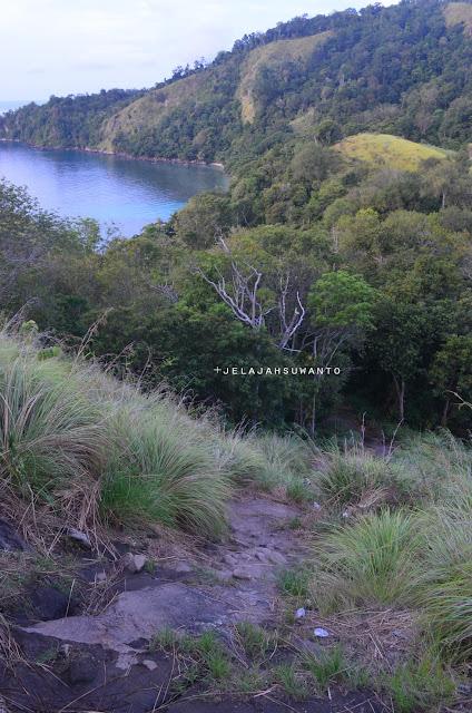 lereng Bukit Pulisan, Likupang Timur, Minahasa Utara, Sulawesi Utara menuju pantai +jelajahsuwanto