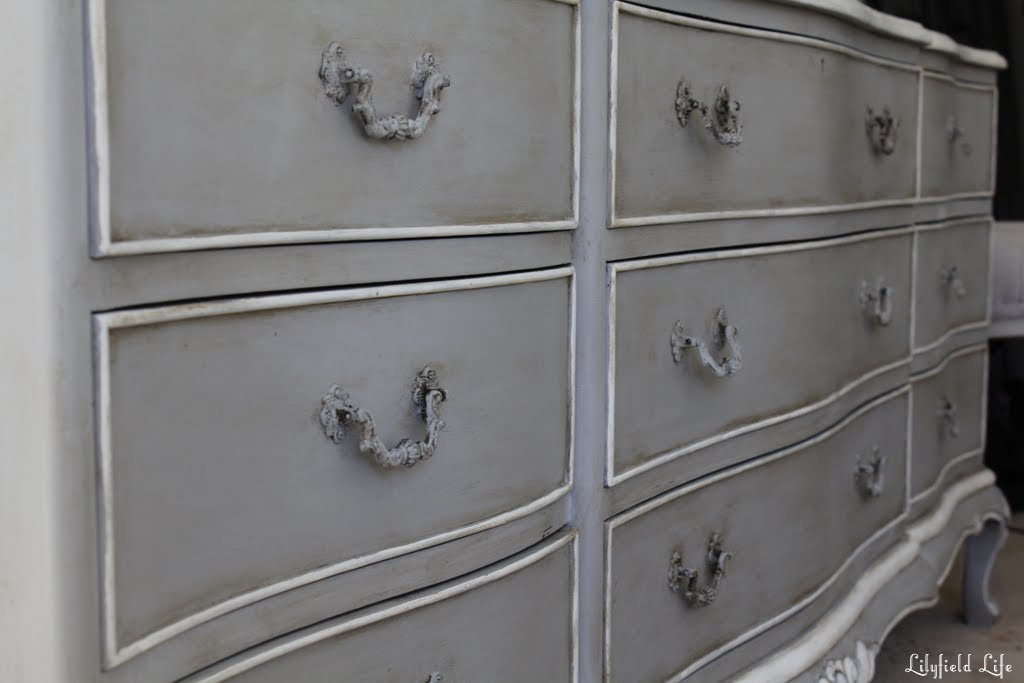 Beautiful Lilyfield Life: French Châteaux Chest of Drawers in Paris Grey MO58