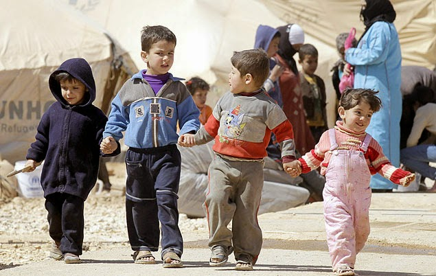 Campo de refugiados Zaatari recebe serviço de entrega de pizza