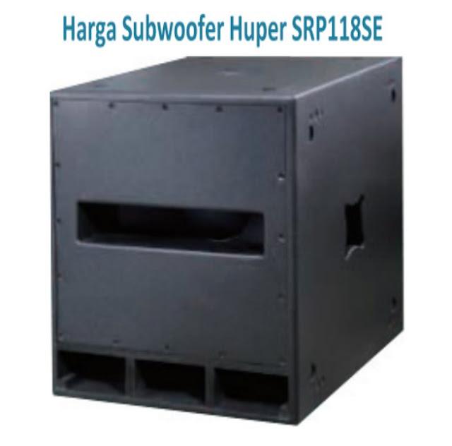 Harga Subwoofer Huper SRP118SE