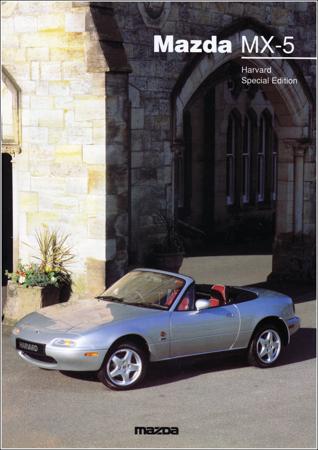 Mazda Mx-5 Harvard Special Edition