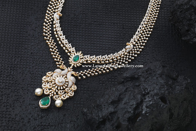 Two Tiered Diamond Necklace