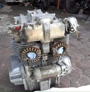 Dijual Mesin honda cb450k1 thn 70
