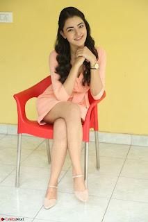 Rukshar Mir in a Peachy Deep Neck Short Dress 103.JPG