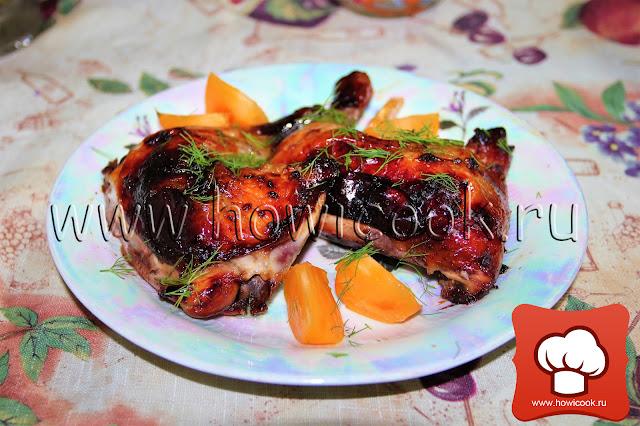 рецепт вкусной курицы с медом