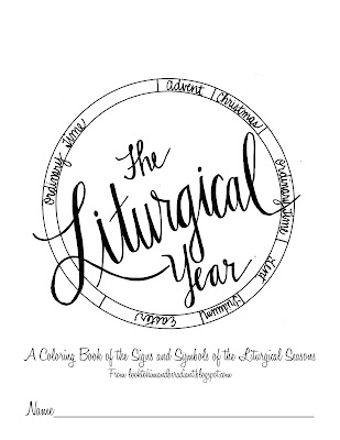photo about Liturgical Year Calendar Printable named Feel towards Him and be Radiant: The Liturgical 12 months Coloring E-book