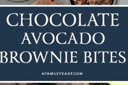 Chocolate Avocado Brownie recipe