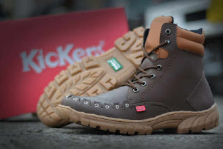 Sepatu Kickers Boots Tooth Brown