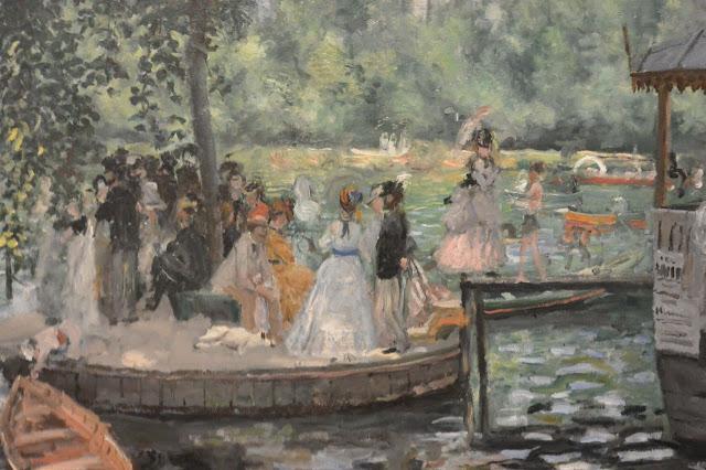 Nationalmuseum de Stockholm :Auguste Renoir : La grenouillère (1869)