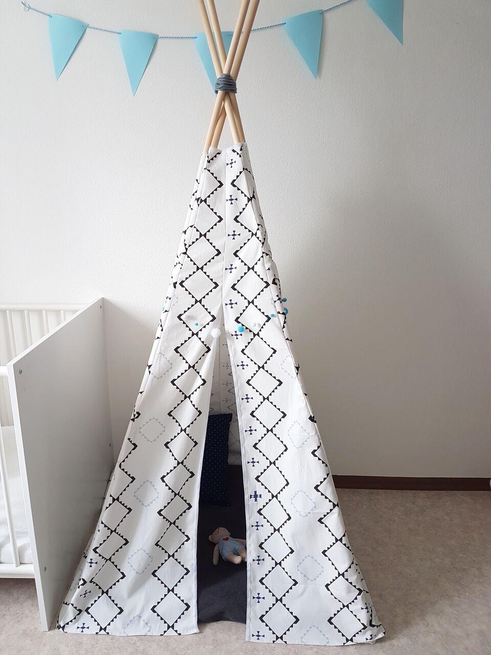 DIY Anleitung - Tipi für Kinder