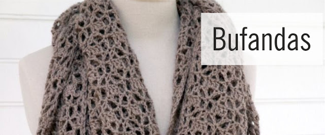 Bufandas a Crochet