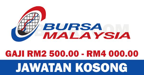 JAWATAN KOSONG BURSA MALAYSIA