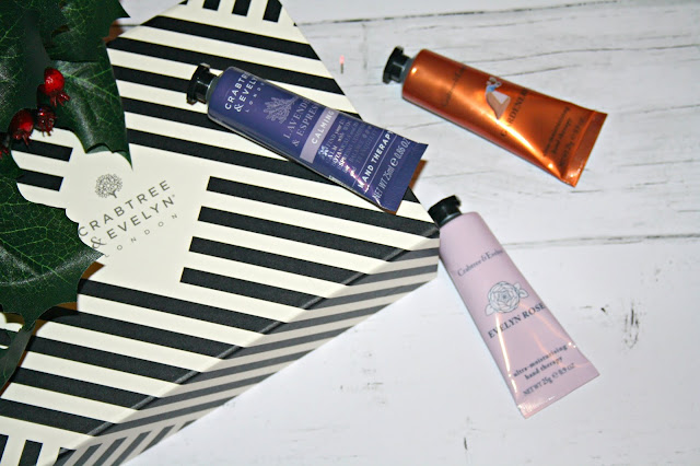 Crabtree & Evelyn Pinkie Power - Hand Cream Trio