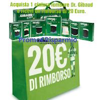 Logo Dr.Gibaud: richiedi il rimborso di 20 euro