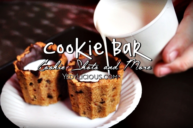 Cookie Shots at Cookie Bar Manila in Kapitolyo Pasig City