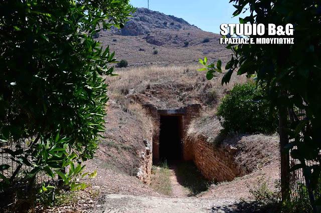Ο θολωτός τάφος της Τίρυνθας (βίντεο)
