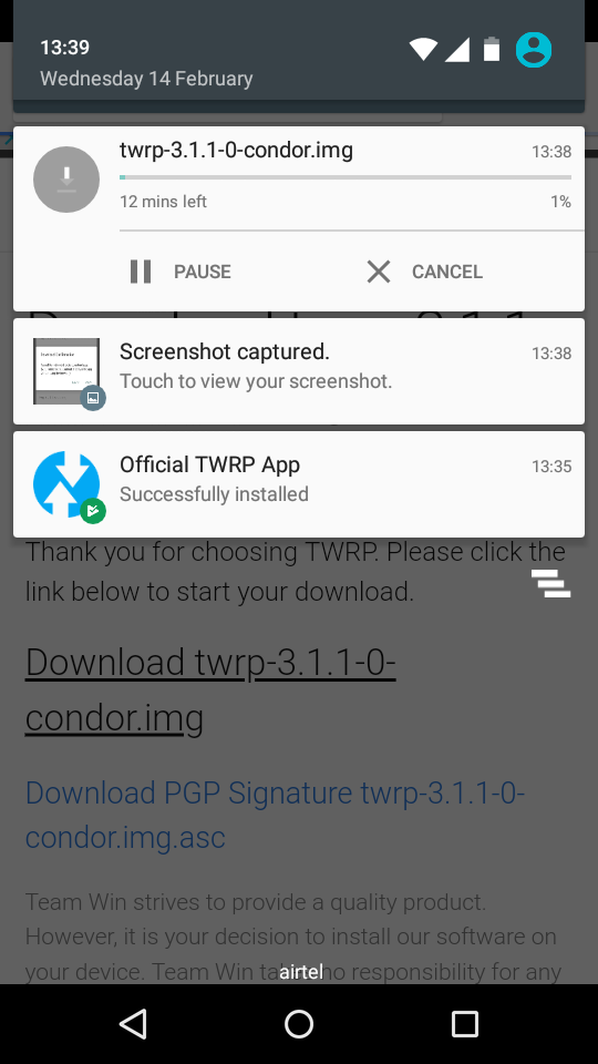 Twrp App