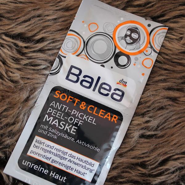 [Review] Balea - Anti Pickel Peel Off Maske