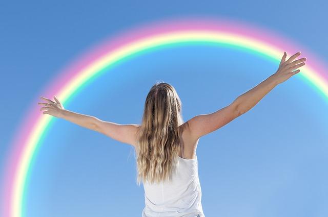 La metáfora del arcoiris
