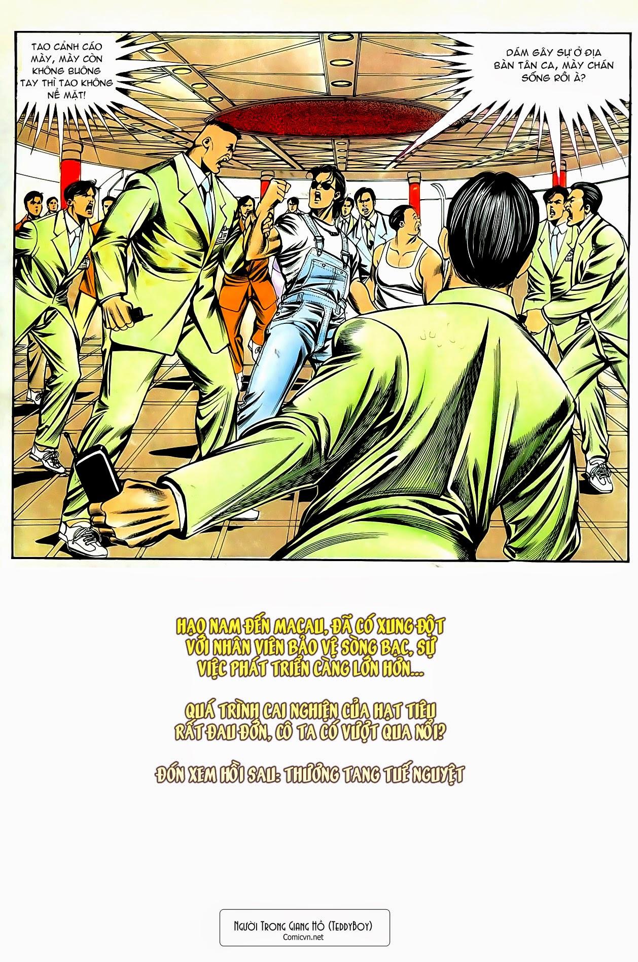 Người Trong Giang Hồ chapter 80: macau nổi sóng gió trang 31
