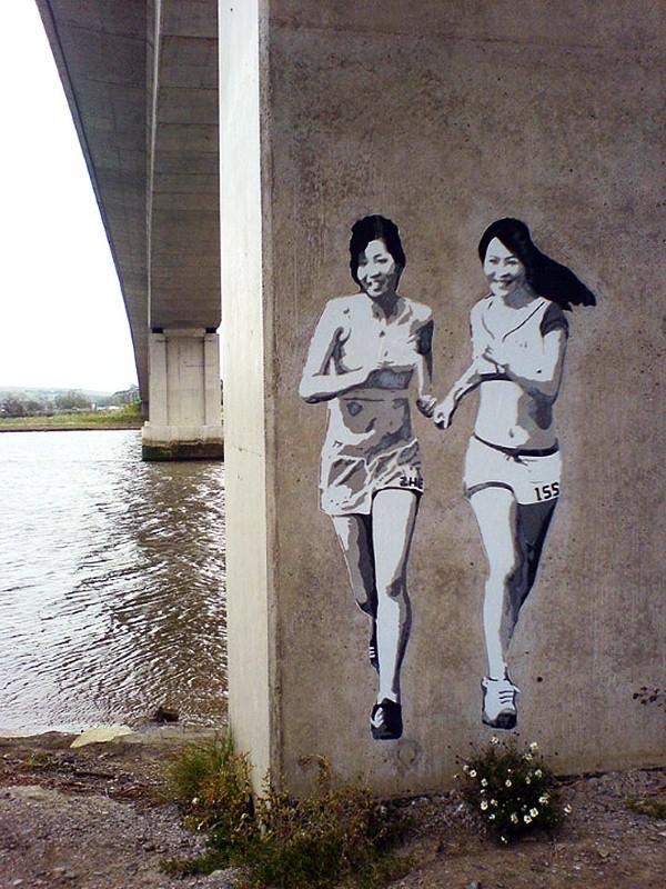 Уличные художники Andrea Michaelsson и Ilya Meyer 16
